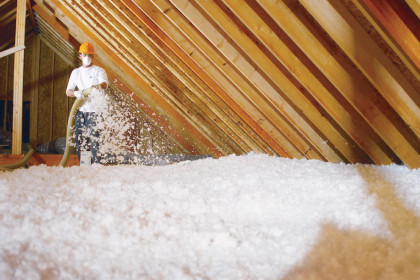 Blown-in Insulation Services